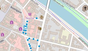 Karte Bamberg.Clinic Im Centrum Bamberg Praxisklinik Dr Med Eberlein