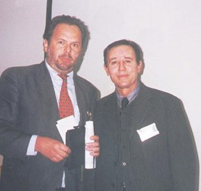 Schoenheitsklinik: Dr.Peter Dana mit Dr. Obagi in Hollywood - Antiaging Dr. Dana - Marbella